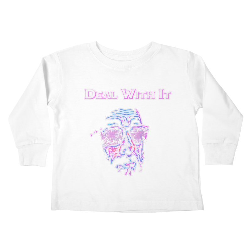 Deal With It Kids Toddler Longsleeve T-Shirt by An Authentic Piece