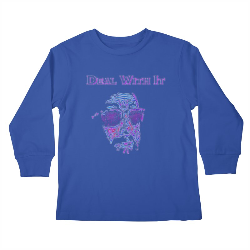 Deal With It Kids Longsleeve T-Shirt by An Authentic Piece