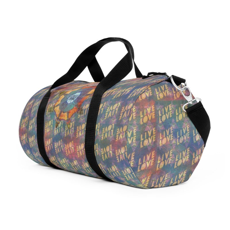 Guided by Living Love Accessories Duffel Bag Bag by An Authentic Piece