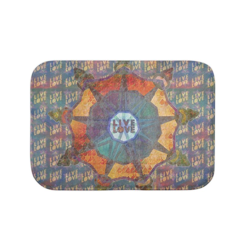 Guided by Living Love Home Bath Mat by An Authentic Piece
