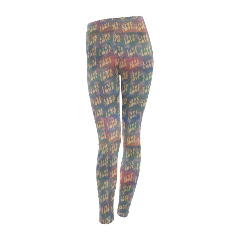 Guided by Living Love Women's Leggings Bottoms by An Authentic Piece