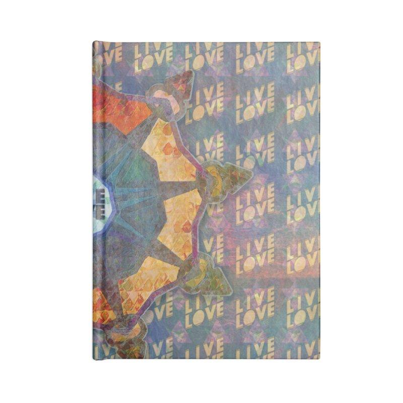 Guided by Living Love Accessories Lined Journal Notebook by An Authentic Piece