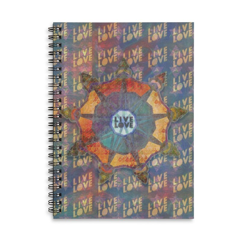 Guided by Living Love Accessories Lined Spiral Notebook by An Authentic Piece