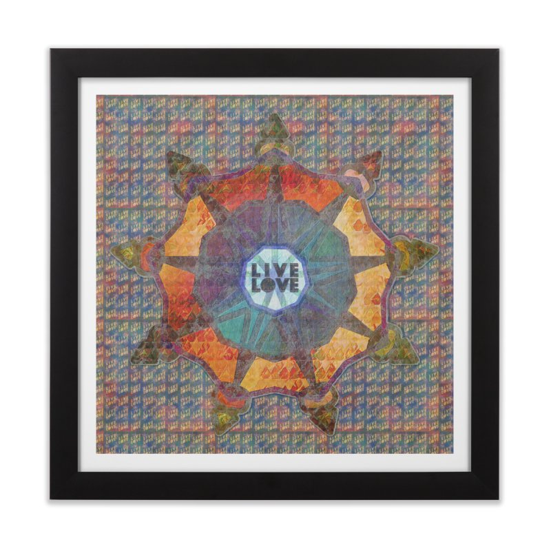 Guided by Living Love Home Framed Fine Art Print by An Authentic Piece
