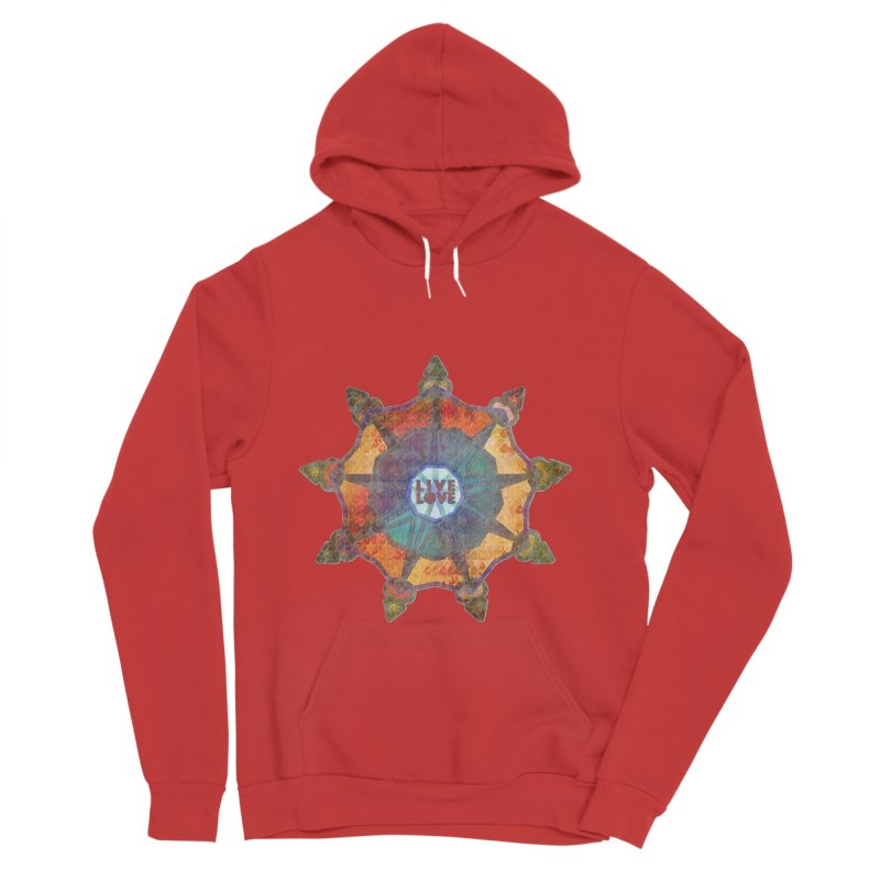Guided by Living Love Men's Pullover Hoody by An Authentic Piece