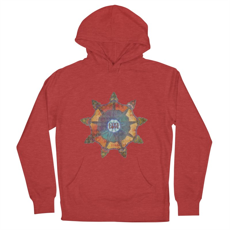 Guided by Living Love Men's French Terry Pullover Hoody by An Authentic Piece
