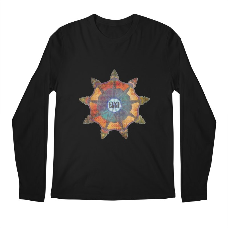 Guided by Living Love Men's Regular Longsleeve T-Shirt by An Authentic Piece