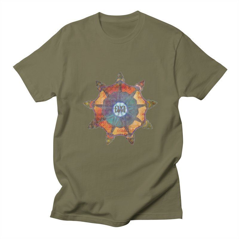 Guided by Living Love Men's Regular T-Shirt by An Authentic Piece