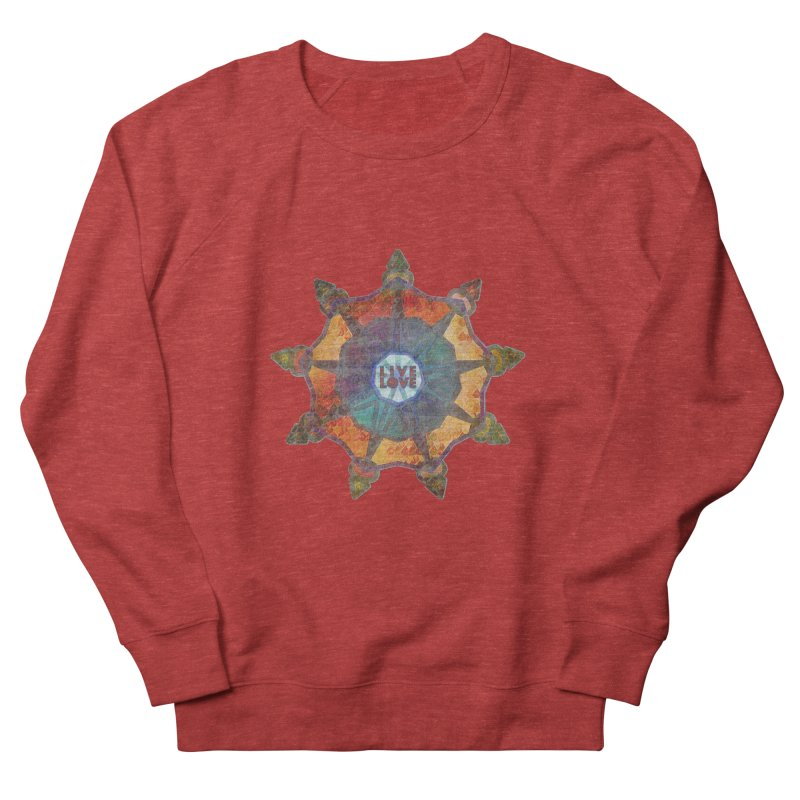 Guided by Living Love Women's French Terry Sweatshirt by An Authentic Piece