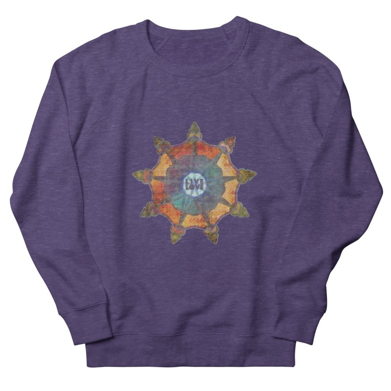 Guided by Living Love Men's French Terry Sweatshirt by An Authentic Piece