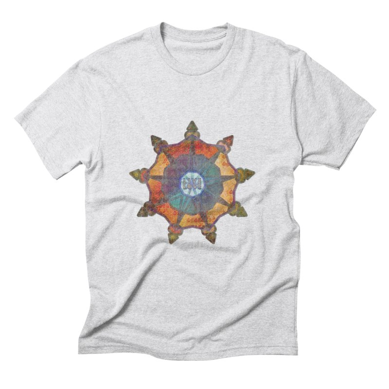 Guided by Living Love Men's Triblend T-Shirt by An Authentic Piece