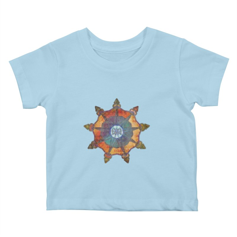 Guided by Living Love Kids Baby T-Shirt by An Authentic Piece