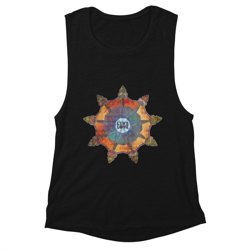 Guided by Living Love Women's Tank by An Authentic Piece