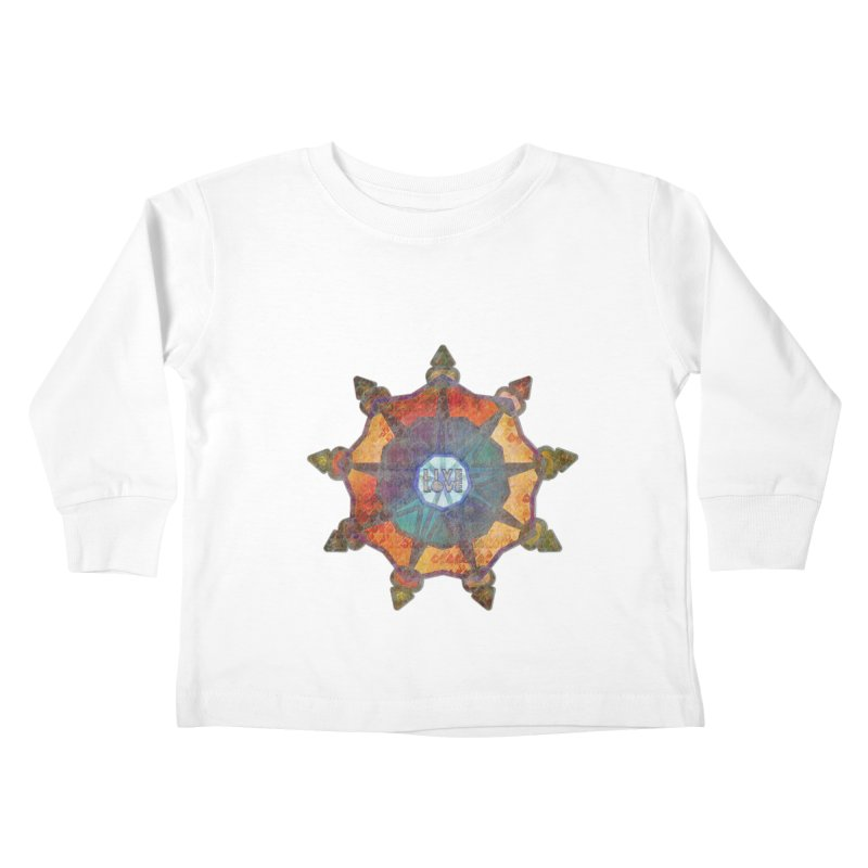 Guided by Living Love Kids Toddler Longsleeve T-Shirt by An Authentic Piece