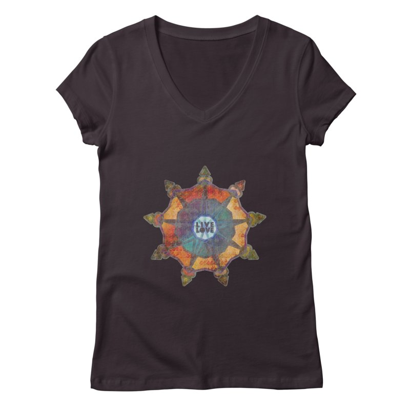 Guided by Living Love Women's Regular V-Neck by An Authentic Piece