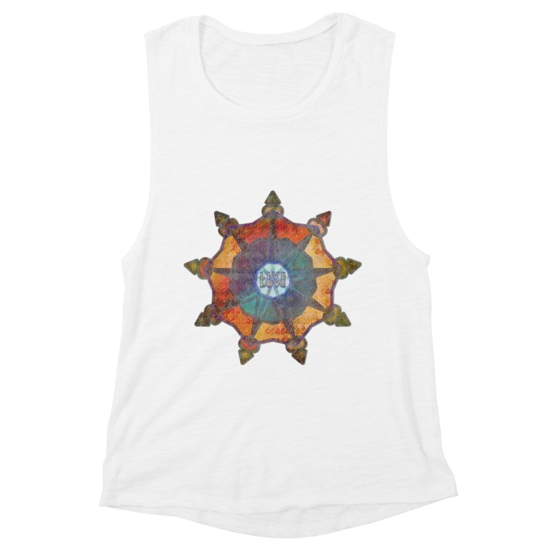 Guided by Living Love Women's Muscle Tank by An Authentic Piece