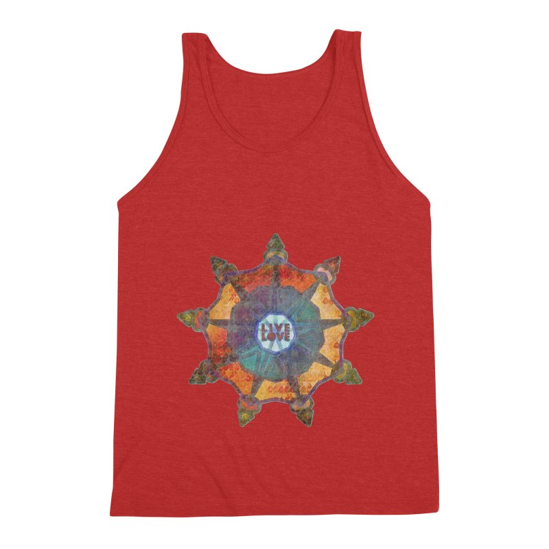 Guided by Living Love Men's Triblend Tank by An Authentic Piece