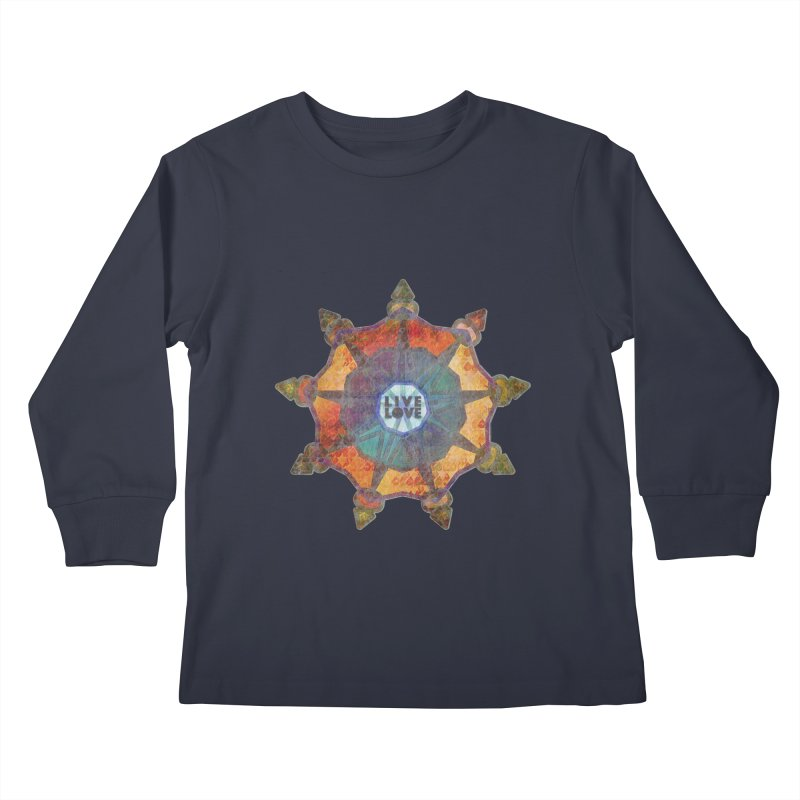 Guided by Living Love Kids Longsleeve T-Shirt by An Authentic Piece