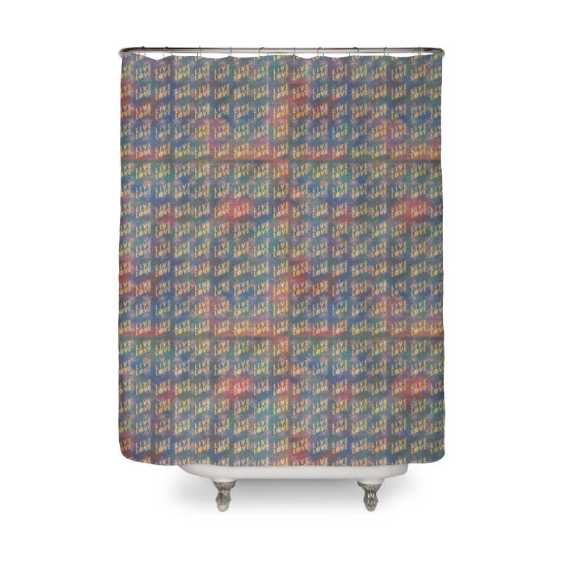 Guided by Living Love Home Shower Curtain by An Authentic Piece