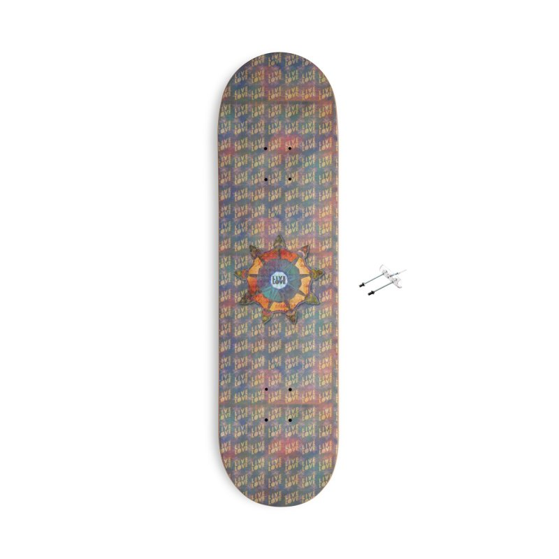 Guided by Living Love Accessories Skateboard by An Authentic Piece