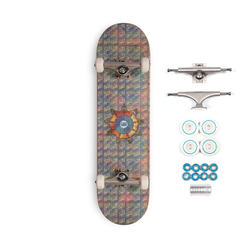 Guided by Living Love Accessories Complete - Basic Skateboard by An Authentic Piece