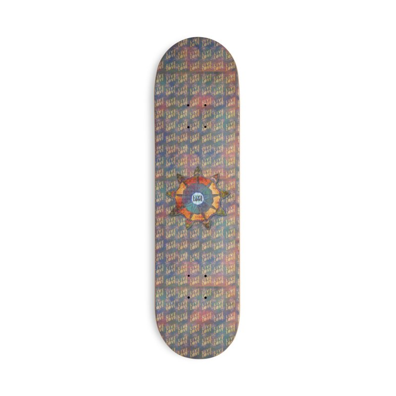 Guided by Living Love Accessories Deck Only Skateboard by An Authentic Piece