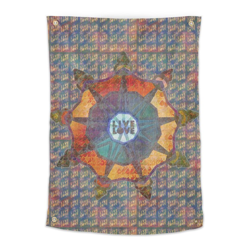 Guided by Living Love Home Tapestry by An Authentic Piece