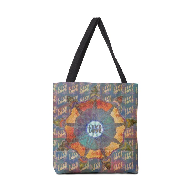 Guided by Living Love Accessories Tote Bag Bag by An Authentic Piece