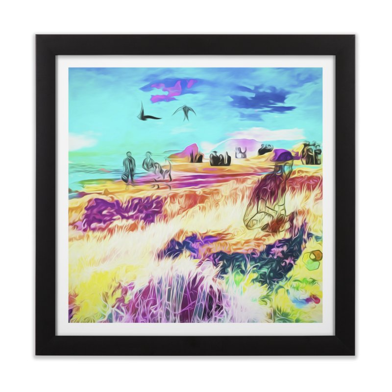 Isolation Home Framed Fine Art Print by An Authentic Piece