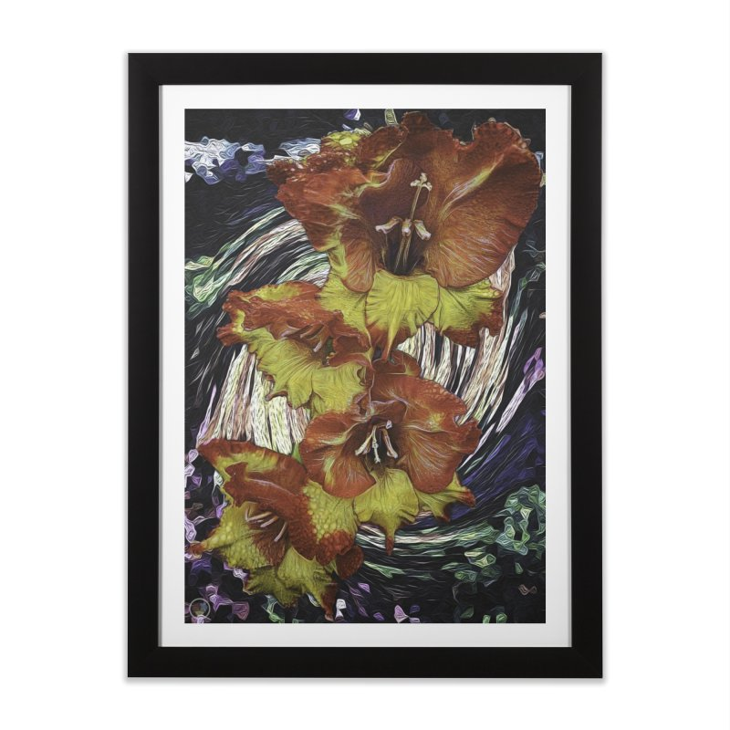 Out Of Chaos in Framed Fine Art Print Black by An Authentic Piece