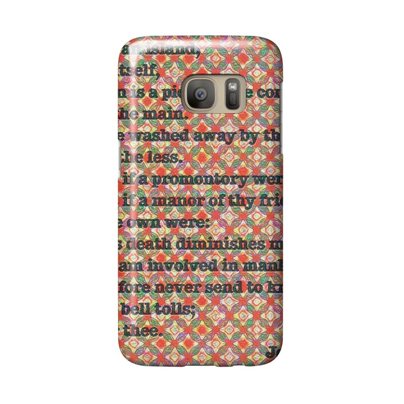 No Man Is An Island Accessories Phone Case by An Authentic Piece