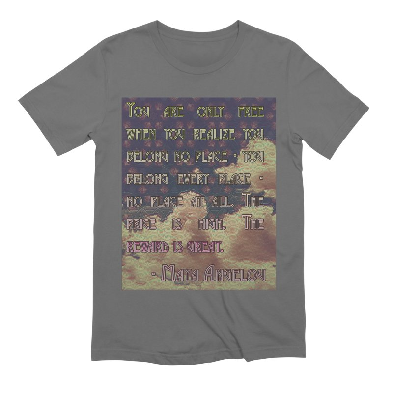 Everywhere & Nowhere - The Same Place Men's T-Shirt by An Authentic Piece