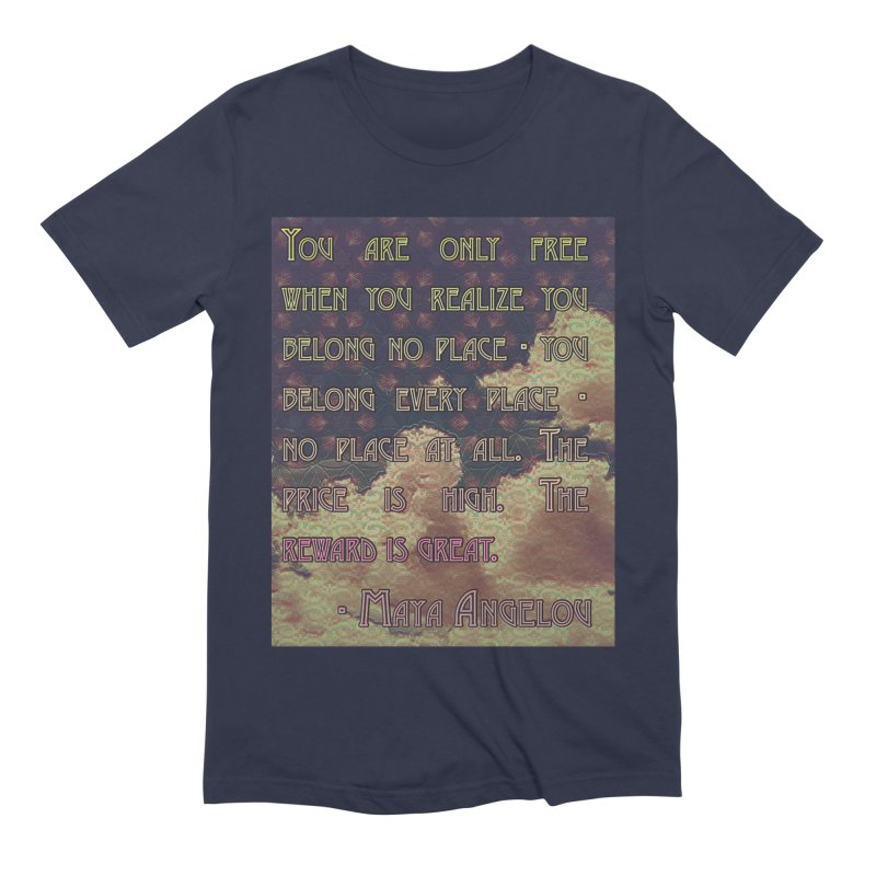 Everywhere & Nowhere - The Same Place Men's Extra Soft T-Shirt by An Authentic Piece