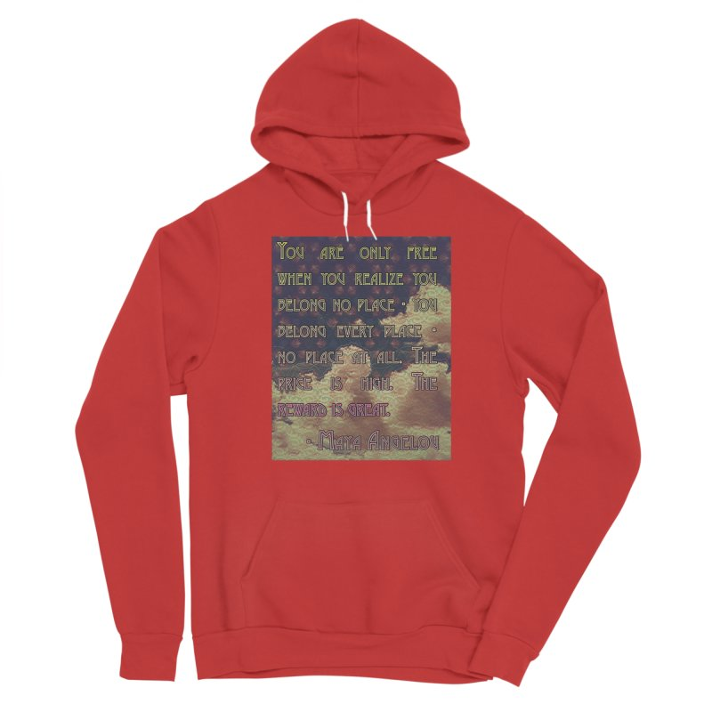 Everywhere & Nowhere - The Same Place Women's Pullover Hoody by An Authentic Piece