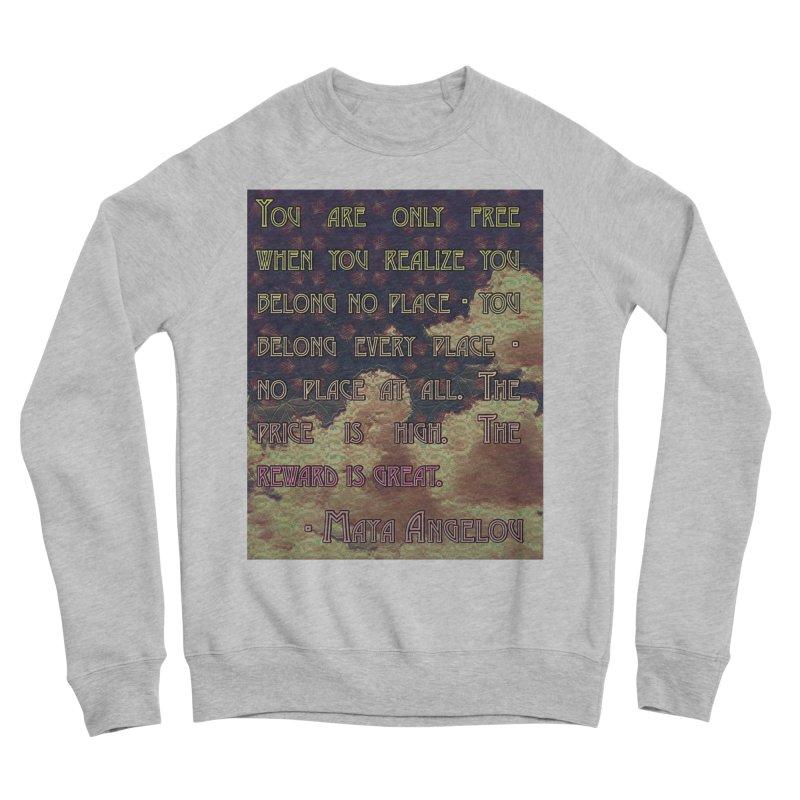 Everywhere & Nowhere - The Same Place Women's Sponge Fleece Sweatshirt by An Authentic Piece