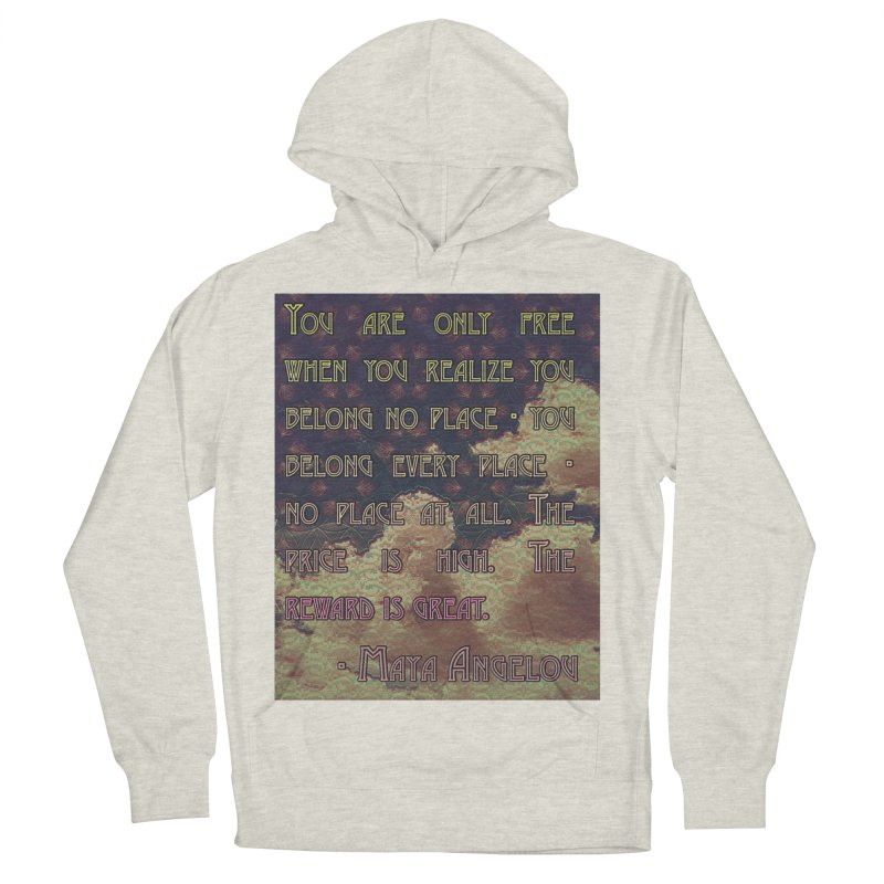 Everywhere & Nowhere - The Same Place Women's French Terry Pullover Hoody by An Authentic Piece