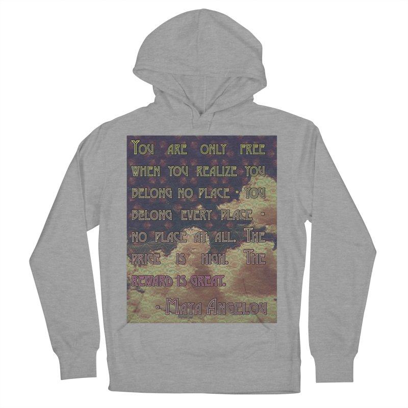 Everywhere & Nowhere - The Same Place Men's French Terry Pullover Hoody by An Authentic Piece