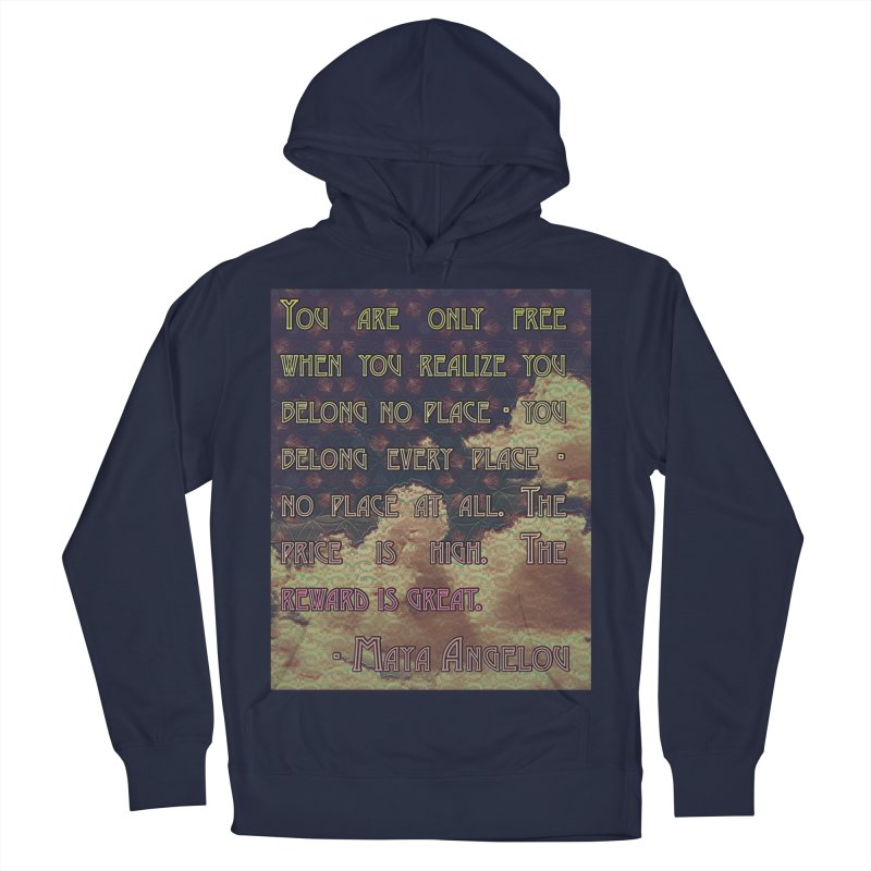 Everywhere & Nowhere - The Same Place Men's Pullover Hoody by An Authentic Piece