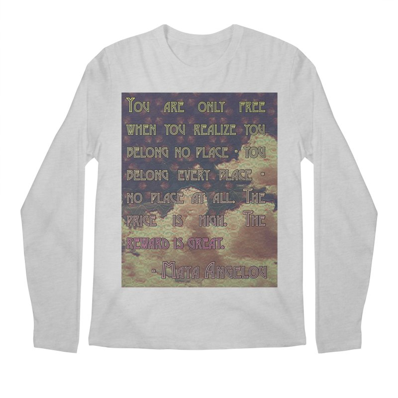 Everywhere & Nowhere - The Same Place Men's Regular Longsleeve T-Shirt by An Authentic Piece