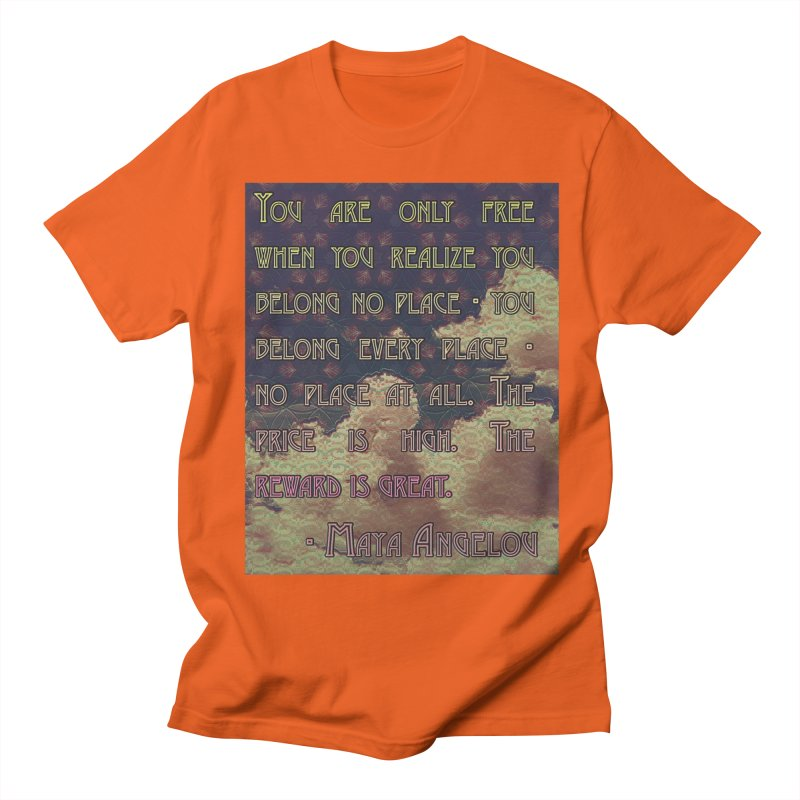 Everywhere & Nowhere - The Same Place Men's Regular T-Shirt by An Authentic Piece