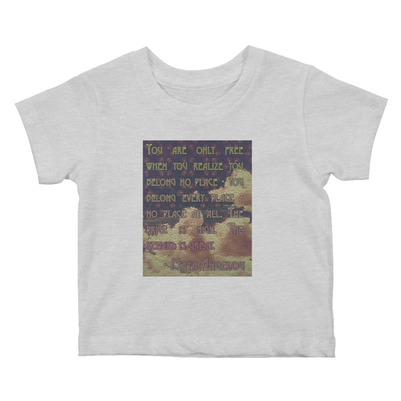 Everywhere & Nowhere - The Same Place Kids Baby T-Shirt by An Authentic Piece
