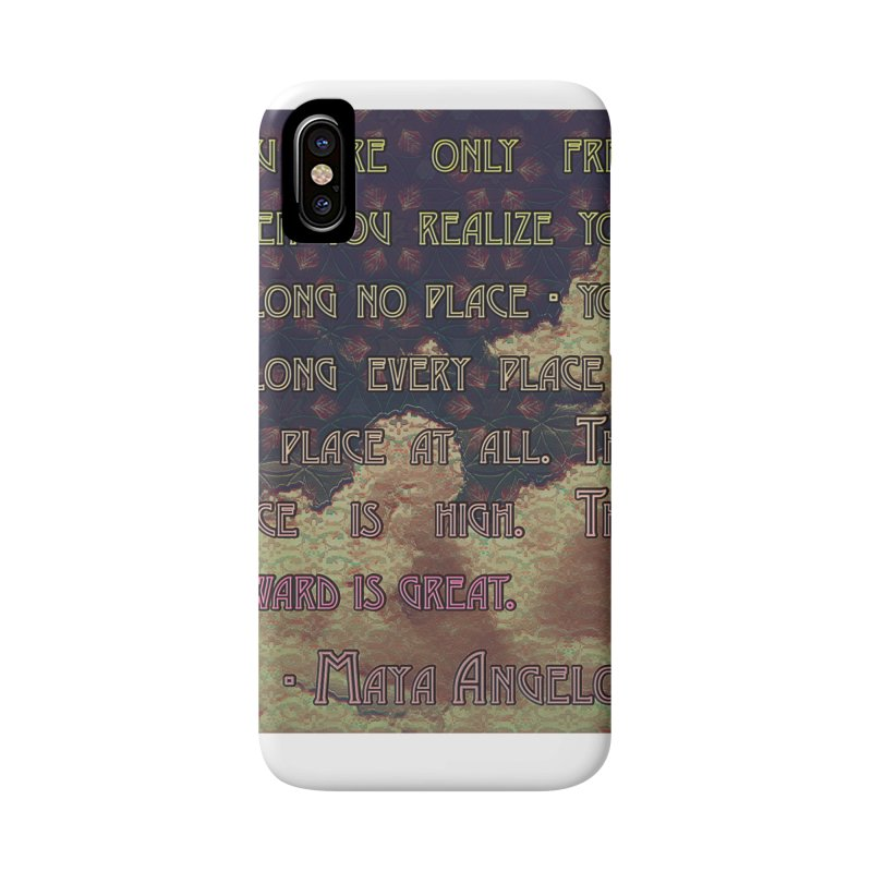 Everywhere & Nowhere - The Same Place Accessories Phone Case by An Authentic Piece