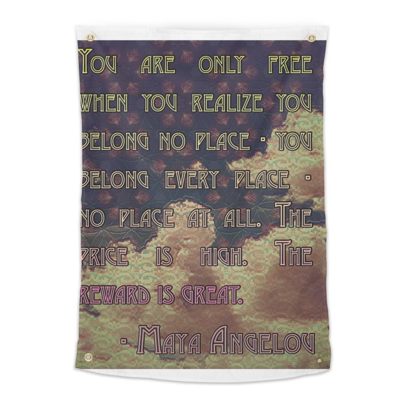 Everywhere & Nowhere - The Same Place Home Tapestry by An Authentic Piece
