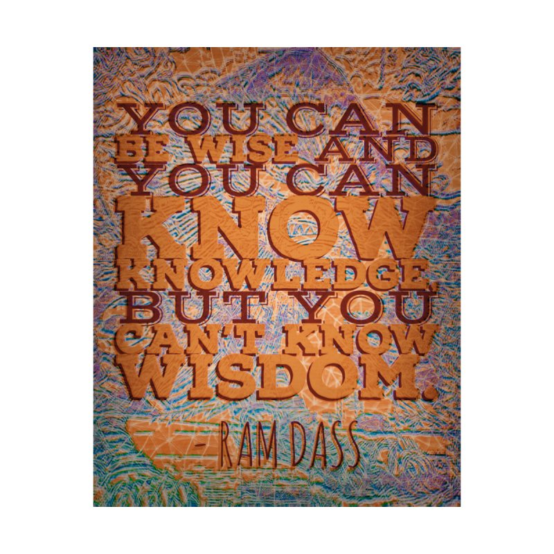 You Can't Know Wisdom Accessories Sticker by An Authentic Piece