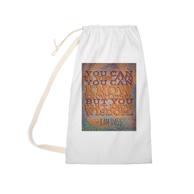 You Can't Know Wisdom Accessories Bag by AnAuthenticPiece