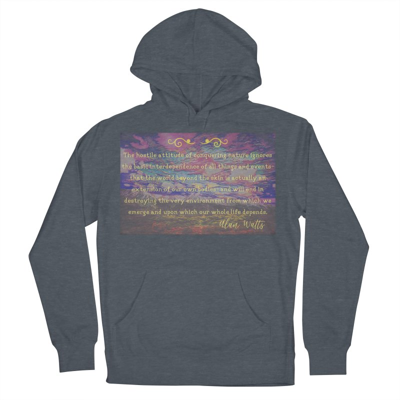 Hostile Towards Nature Men's French Terry Pullover Hoody by An Authentic Piece