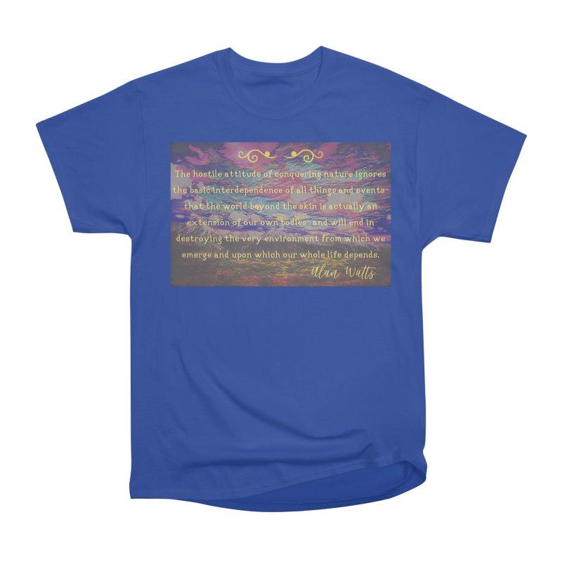 Hostile Towards Nature Women's Heavyweight Unisex T-Shirt by An Authentic Piece