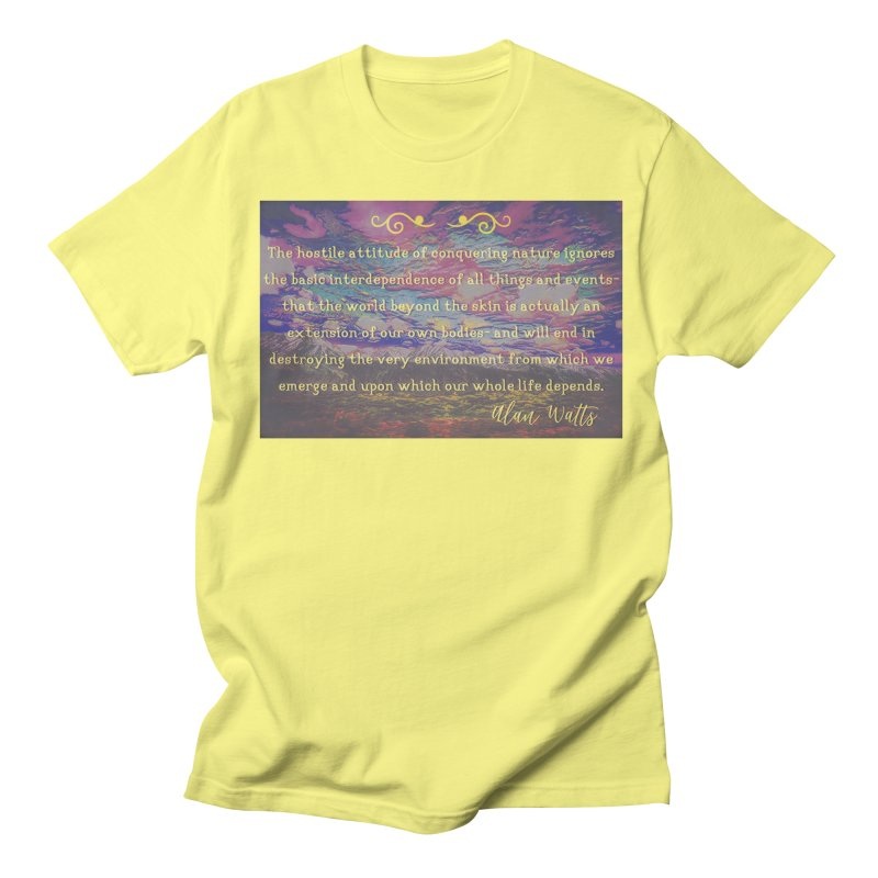Hostile Towards Nature Women's Regular Unisex T-Shirt by An Authentic Piece