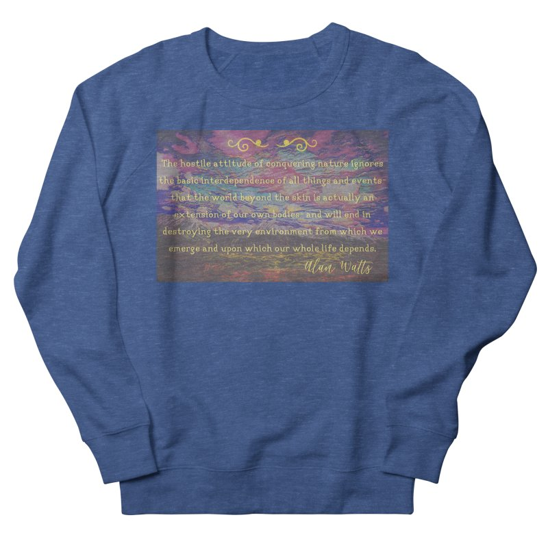 Hostile Towards Nature Men's French Terry Sweatshirt by An Authentic Piece