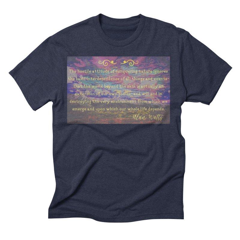 Hostile Towards Nature Men's Triblend T-Shirt by An Authentic Piece